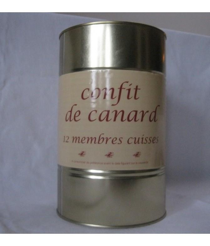 CONFIT DE CANARD 12 cuisses