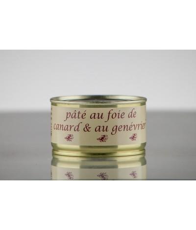 PÂTÉ DE FOIE DE CANARD AU GENÉVRIER 190 GR