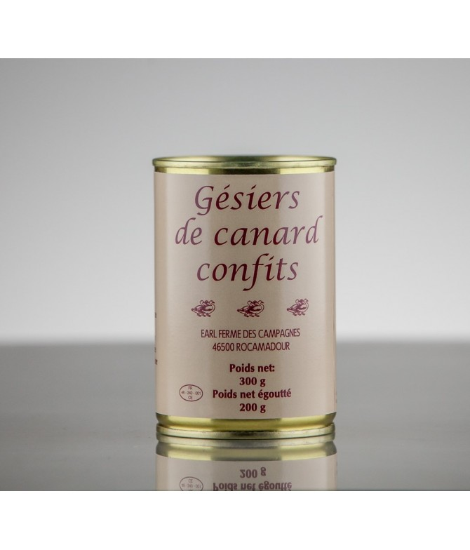 GÉSIERS DE CANARD 200 GR