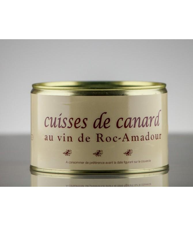 CUISSES DE CANARD AU VIN DE ROCAMADOUR 1.1 KG 3P