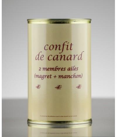 CONFIT DE CANARD 2 AILES 4P