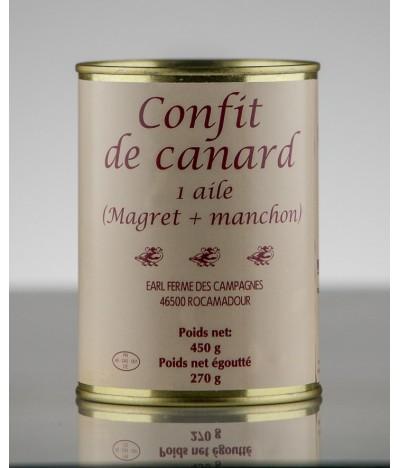 CONFIT DE CANARD 1 AILE 2P